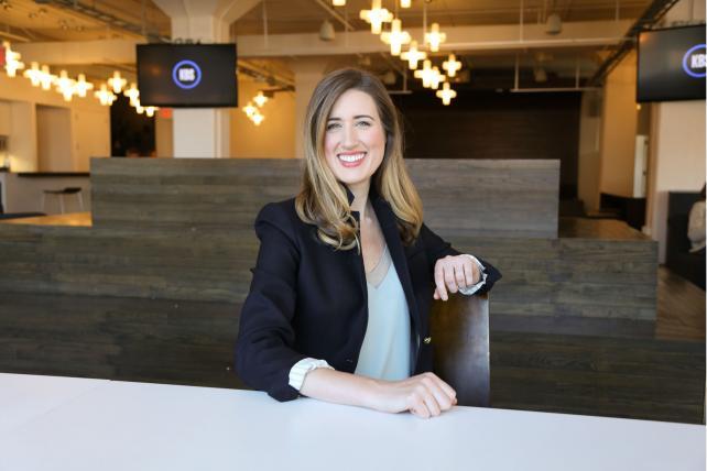 Katie Klumper, incoming leader of Heat's New York office