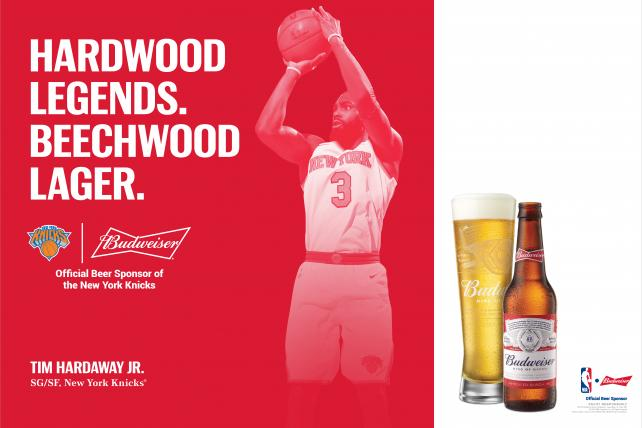 AB InBev strikes deals to put more sports pros in beer ads, overcoming long-held resistance