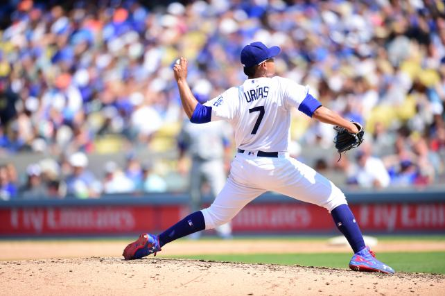 Julio Urias of the Los Angeles Dodgers.