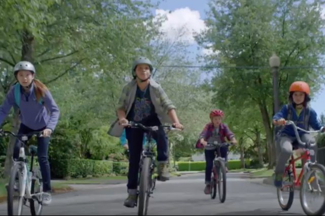 A scene from an LLBean ad. The marketer is abandoning a legendary policy that allowed lifetime returns.