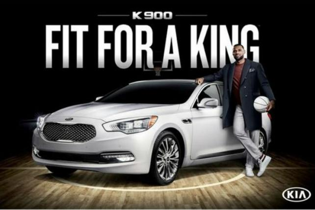 LeBron James for Kia