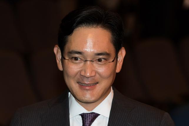Billionaire Lee Jae Yong.