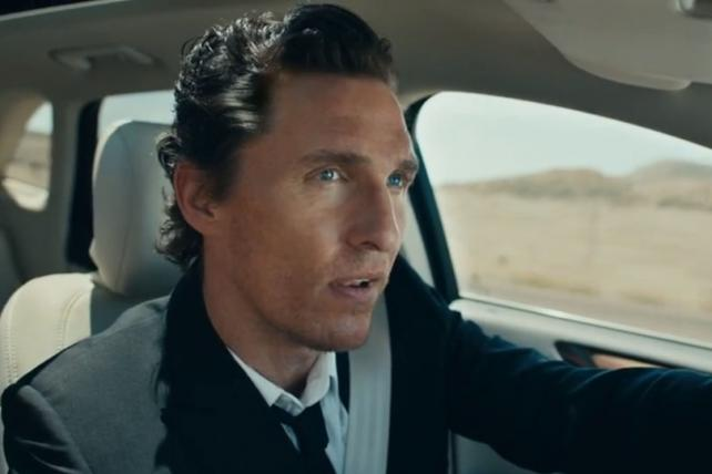 Lincoln has said previously that its campaign featuring actor Matthew McConaughey will extend into next year.