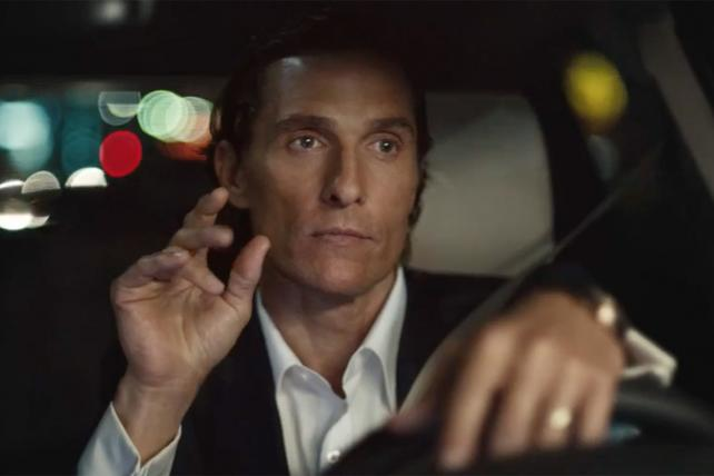 Matthew McConaughey in Lincoln ad
