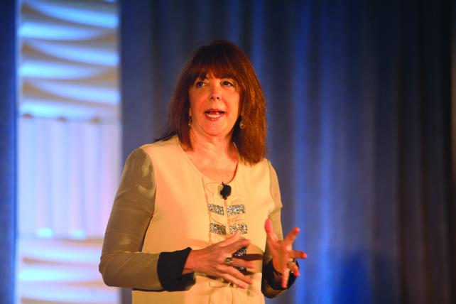 Linda Kaplan Thaler at the Small Agency Conference.
