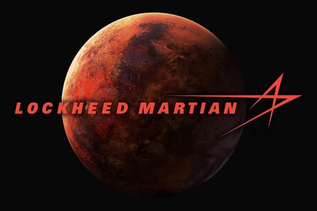 Lockheed Martian logo