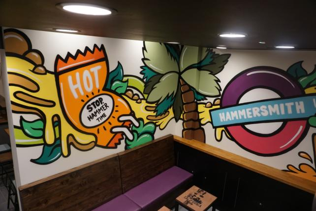 Taco Bell will open its first London location Nov. 23.