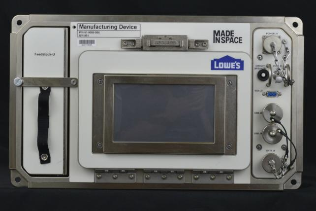 Lowe's Innovation Lab has created a 3D printer for space.