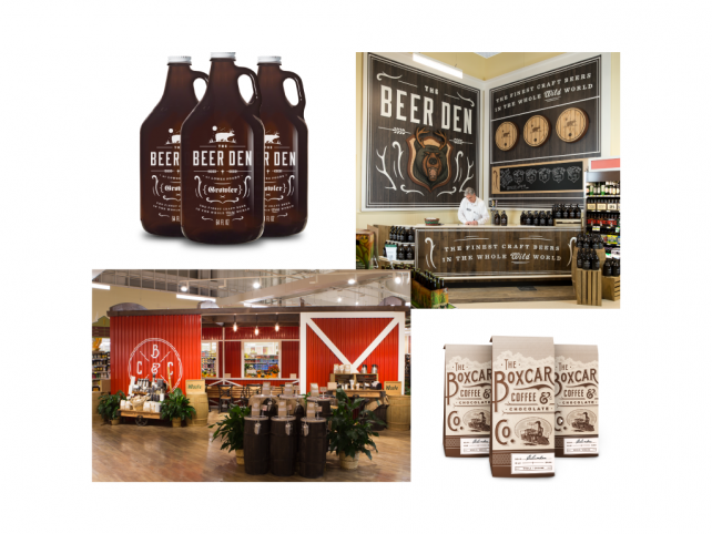 The Variable helped Lowes Foods refresh their image, both in-store and in advertising.