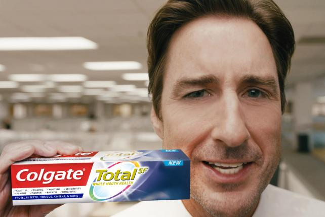 Watch Luke Wilson in Colgate's Super Bowl commercial
