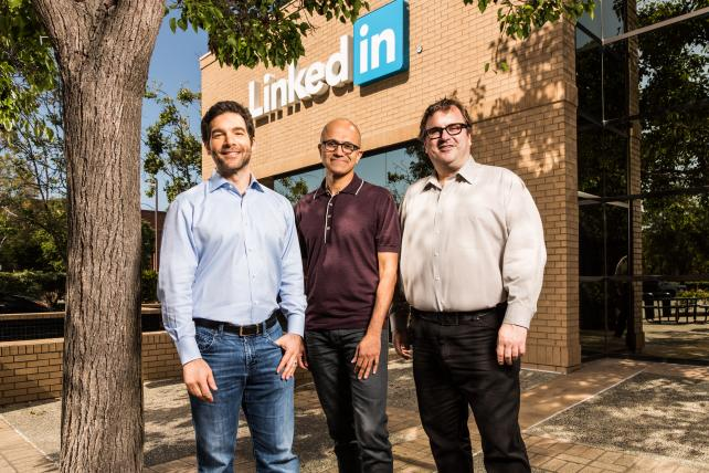 Microsoft to Buy LinkedIn in Deal Valued at $26.2 Billion, Nearly 50% Premium