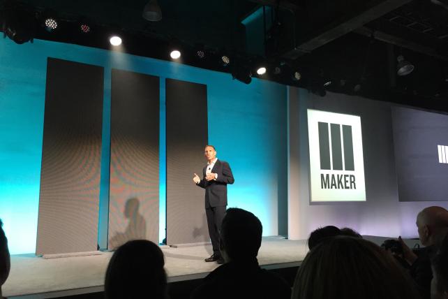 Maker Studios CEO Ynon Kreiz opened the Disney-owned digital video network's NewFront on Tuesday.