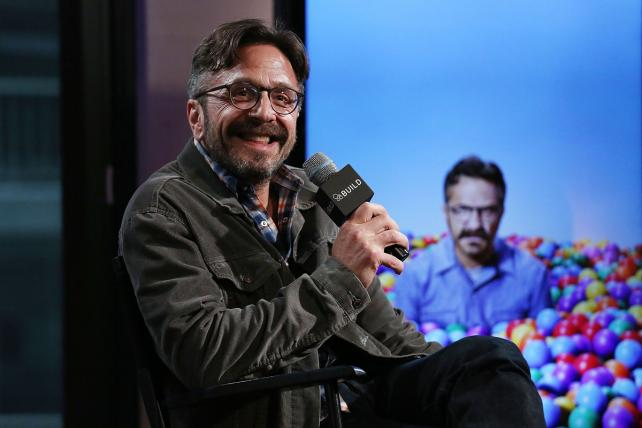 Podcaster Marc Maron at an AOL speaker series in May.