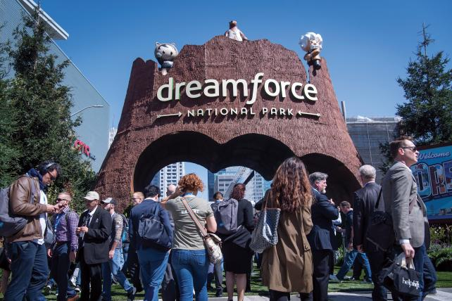Salesforce drew an astounding 170,000 people to Dreamforce in May, nearly on par with the crowds drawn to the spectacle that is CES.