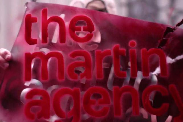 A scene from the Martin Agency's 'about us' video.