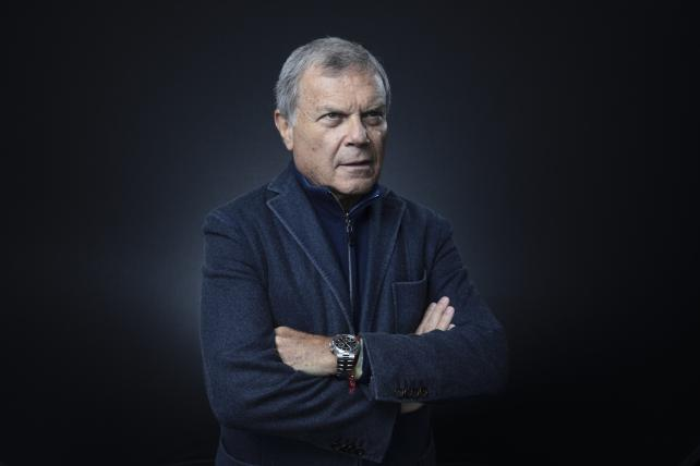 WPP CEO Martin Sorrell at the World Economic Forum in January