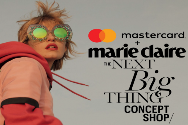 Mastercard and Marie Claire are teaming up on a store.