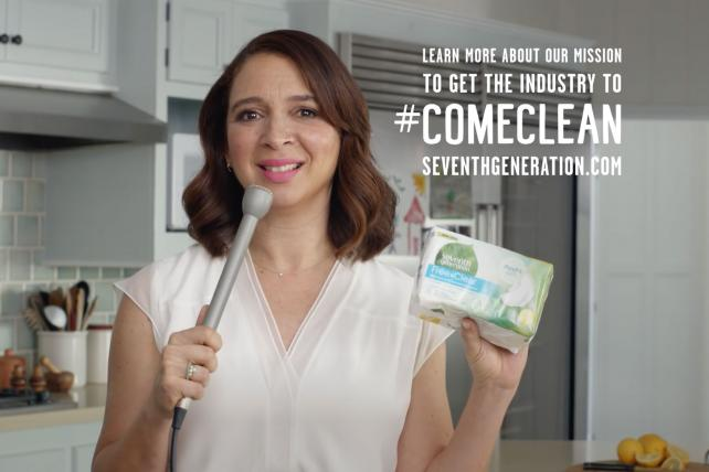 Maya Rudolph appears in a 90-second video for Seventh Generation that took over a full commercial pod during TBS's 'Full Frontal With Samantha Bee,' as part of Turner's native advertising efforts.