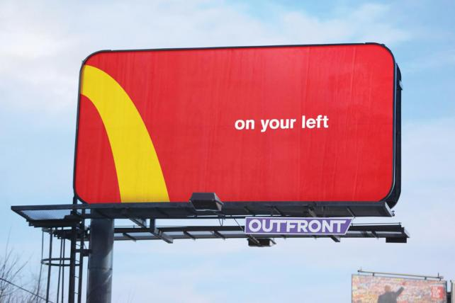 McDonald's and Comedy Central campaigns take Grand Prix for Outdoor