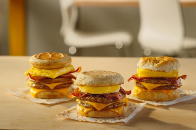 Marketer's Brief: McDonald's bets on breakfast and Lowe's salutes the military