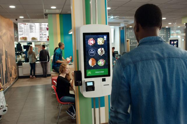 McDonald's: Touch-Screen Ordering Kiosk-15