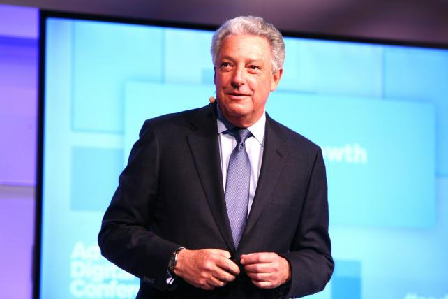 Interpublic CEO Michael Roth at the Ad Age Digital Conference.