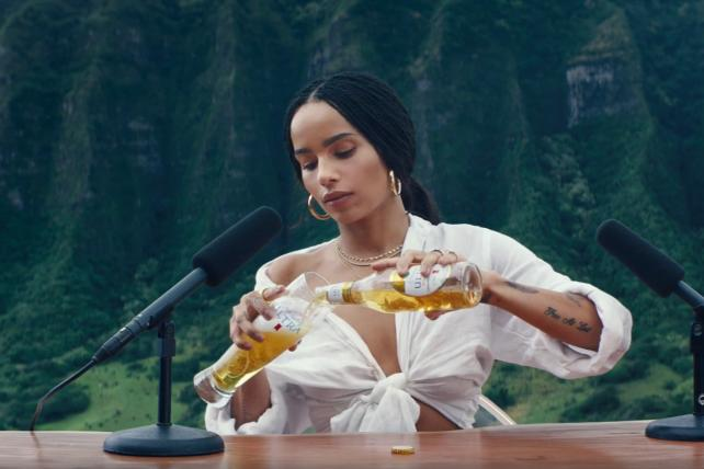 Super Bowl ad for Michelob Ultra's organic beer taps ASMR sensory trend