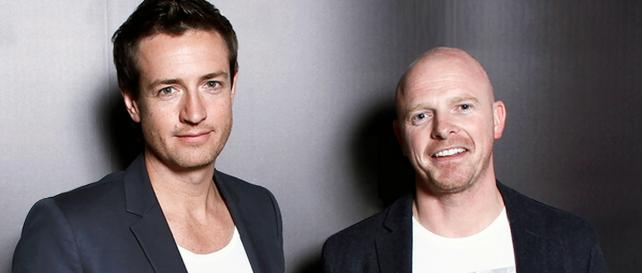 (From l.) Mike Sutherland and Antony Nelson, creative directors, AMV BBDO