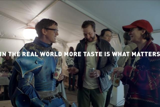 Miller Lite co-opts Bud Light's 'Dilly Dilly' world in attack ads