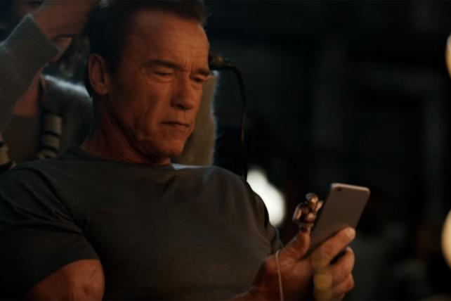 Machine Zone launched 'Mobile Stike' in November with ads featuring Arnold Schwarzenegger.