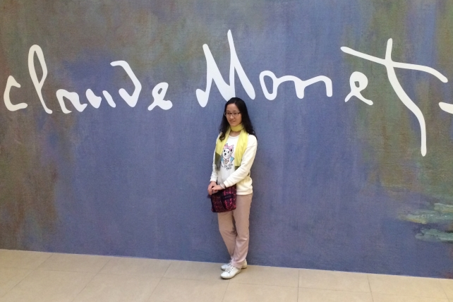 Say 'Fromage': At the Monet show in a Shanghai mall