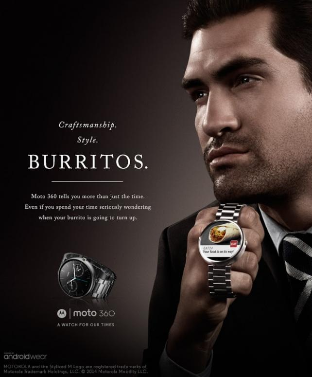 'A Watch for Our Times' campaign from Motorola