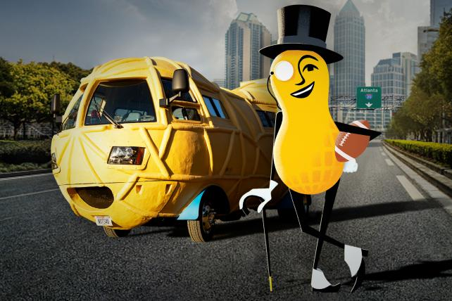 Mr. Peanut and a celebrity will appear in Planters' Super Bowl commercial