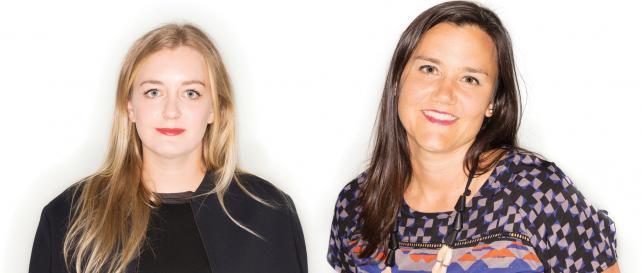 (From l.) Julia Neumann and Amy Ferguson, creative directors, MullenLowe
