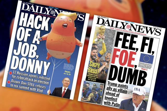 New York Daily News owner Tronc soars on a report that it may sell all its newspapers