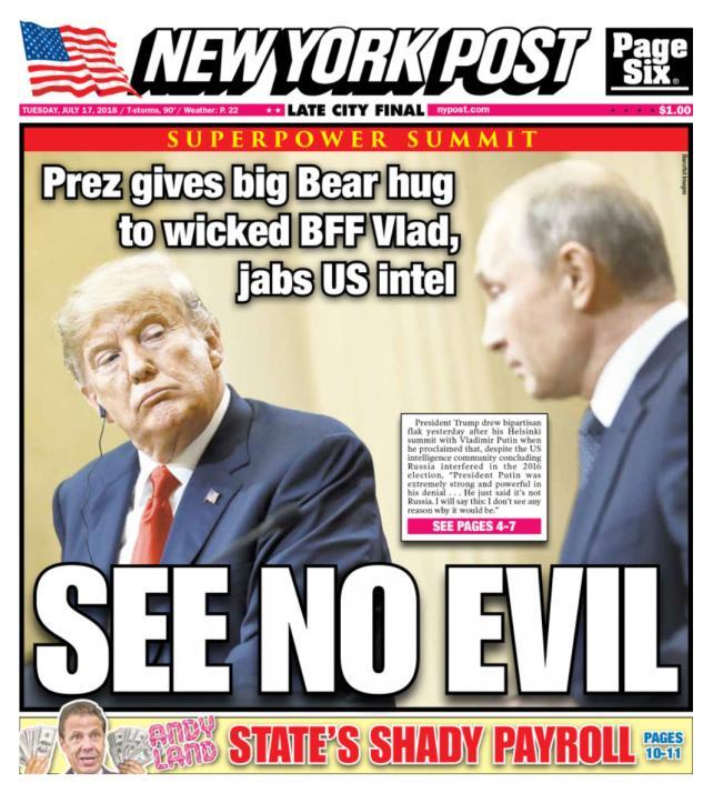 New york post trump dating