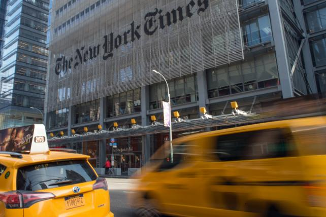 'Failing' New York Times hits 13-year high as subscriptions soar