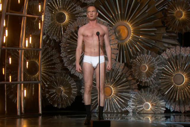Neil Patrick Harris during the 2015 Oscars.