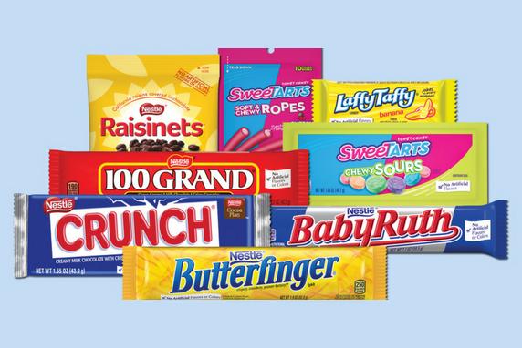 Nestlé candy