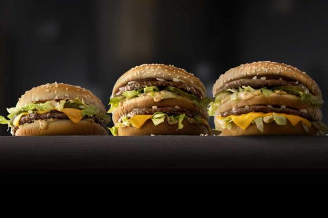 McDonald's will roll out the new Mac Jr. and Grand Mac, new versions of the Big Mac, nationwide next year.