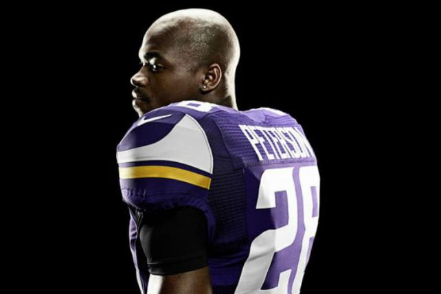Adrian Peterson for Nike