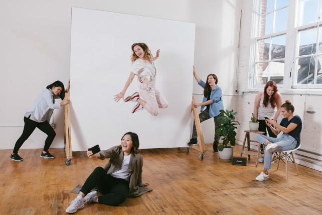 The Program's Nike brand team of all women