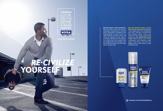 Nivea Pulls Ad, Apologizes After Racism Accusations