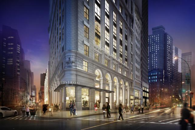 Nordstrom's NYC flagship, set to debut in 2019.