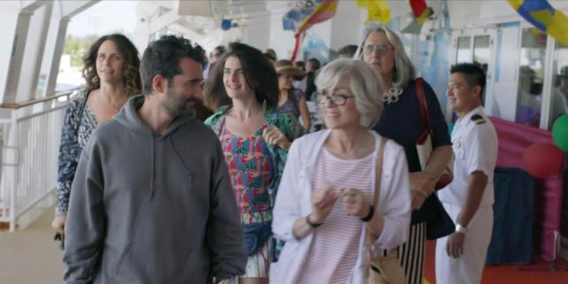 A scene from 'Transparent' on the Norwegian Jewel.