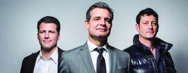 Nick Paul, Tom O'Keefe and Matt Reinhard