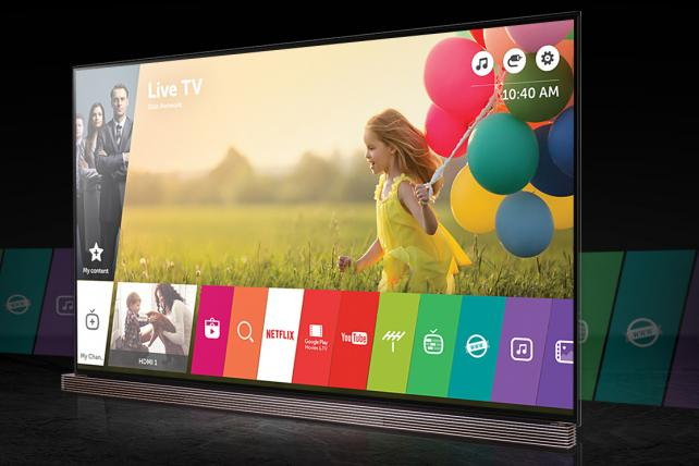 LG Signature OLED 4K HDR Smart TV