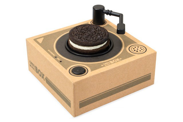 Why Oreo is selling a cookie-playing turntable on Amazon