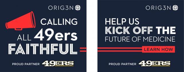 Orig3n is crowdsourcing blood samples at the 49ers home stadium