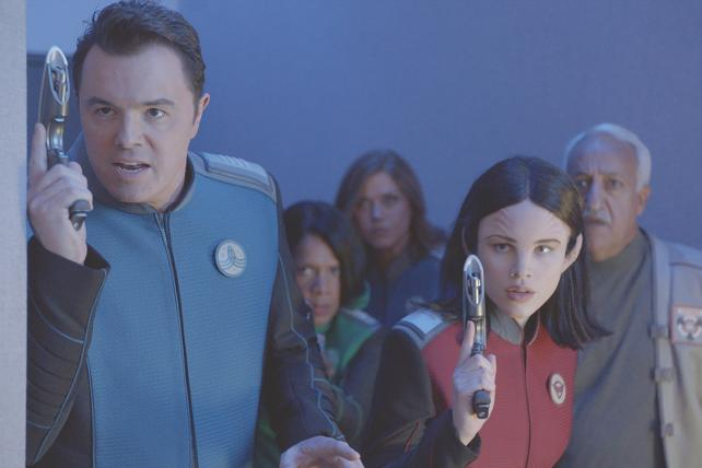 'The Orville,' one of Fox's three new shows this fall, is a comedic space romp from Seth MacFarlane.